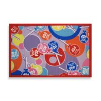 Fun Rugs® Tootsie Roll Pops 1-Foot 7-Inch x 2-Foot 5-Inch Accent Rug