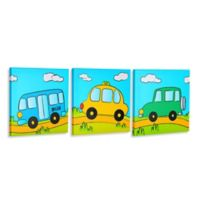 """""""Let's Drive"""" Gallery Wrapped Canvas Wall Art"""