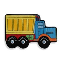 Fun Rugs™ Dump Truck 2-Foot 7-Inch x 3-Foot 11-Inch Accent Rug