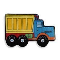 Fun Rugs™ Dump Truck 2-Foot 7-Inch x 3-Foot 11-Inch Accent Rug