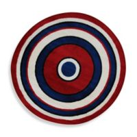 Fun Rugs™ Concentric 4-Foot 3-Inch Round Area Rug
