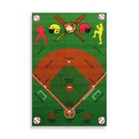 Fun Rugs™ Baseball Field 3-Foot 3-Inch x 4-Foot 10-Inch Accent Rug