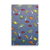 Fun Rugs™ Night Flash Collection 3-foot 3-Inch x4-Foot 10-Inch Area Rug