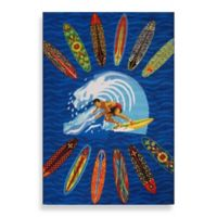 Fun Rugs™ 3-Foot 3-Inch x 4-Foot 10-Inch Surfer Dude Area Rug