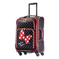 Disney® Minnie Red Bow 21-Inch 4-Wheel Spinner Carry On from American Tourister®