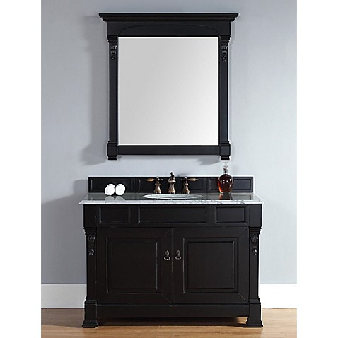 Buy James Martin Furniture Single Vanity In Antique Black Without Countertop