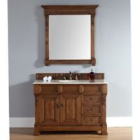 James Martin Furniture Brookfield Single Vanity in Country Oak without Countertop