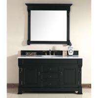 James Martin Furniture Brookfield Single Vanity in Antique Black without Countertop