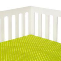 Glenna Jean Pippin Polka Dot Ed Crib Sheet In Green