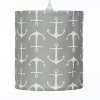 Glenna Jean Fish Tales Anchor Hanging Drum Shade Kit