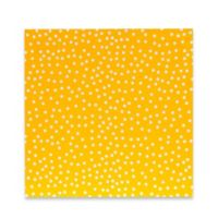 Glenna Jean Traffic Jam Canvas Wall Art in Yellow Dot