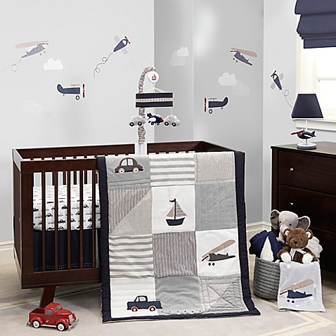 Lambs Amp Ivy 174 Evan Crib Bedding Collection Buybuy Baby
