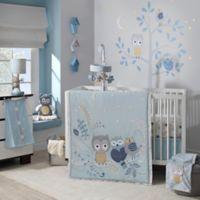 Lambs & Ivy® Night Owl 4-Piece Crib Bedding Set