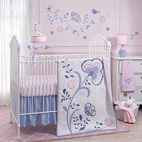 Lambs & Ivy 3 Piece Bedding Set