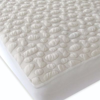 forty winks pebblepuff twin xl organic cotton mattress pad