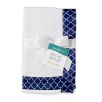 BreathableBaby® Moroccan Modal Knit Blanket in Moroccan Navy