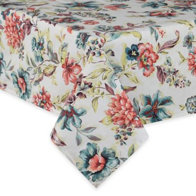 Agnes 52 Inch X 70 Inch Laminated Tablecloth