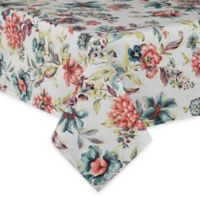 Agnes 60-Inch x 84-Inch Laminated Tablecloth