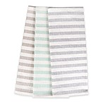 Sam Hedaya Morning Stripe Multicolor Kitchen Towels (Set of 3)