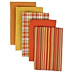 Performance 5-Pack Kitchen Towels in Spice