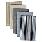 Performance 5-Pack Kitchen Towels in Indigo