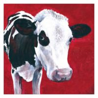 Bold Cow 36-Inch x 36-Inch Canvas Wall Art