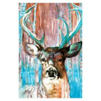 Pied Piper Creative Beautiful Buck 32-Inch x 48-Inch Canvas Wall Art