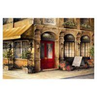 Pied Piper Creative Bistro Frances 48-Inch x 32-Inch Canvas Wall Art