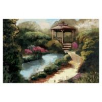 Pied Piper Creative Garden Gazebo 36-Inch x 24-Inch Canvas Wall Art