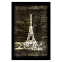 Pied Piper Creative Painted Paris 32-Inch x 48-Inch Canvas Wall Art
