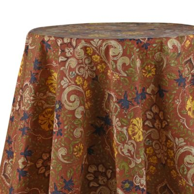 Jessica 70 Inch Laminated Round Tablecloth