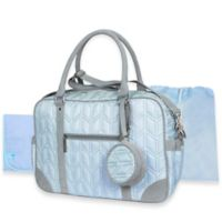 Wendy Bellissimo™ Quilted Duffle Style Diaper Bag in Blue