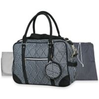 Wendy Bellissimo™ Quilted Duffle Style Diaper Bag in Black
