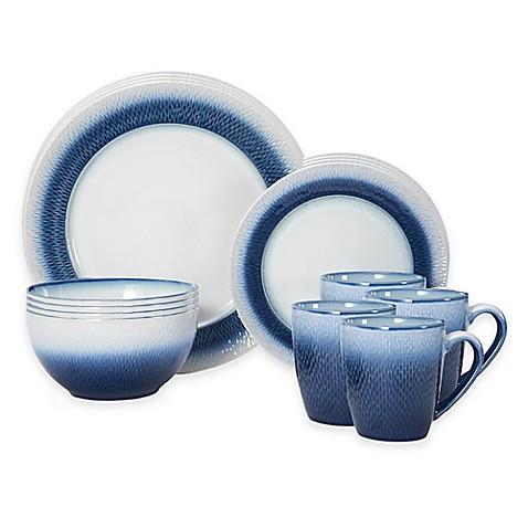 sc 1 st  Bed Bath \u0026 Beyond & Pfaltzgraff® Eclipse 16-Piece Dinnerware Set in Blue - Bed Bath \u0026 Beyond