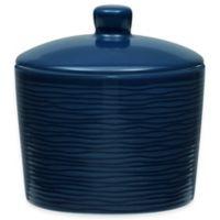 Noritake® Navy on Navy Swirl Covered Sugar Bowl