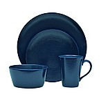 Noritake® Navy on Navy Swirl 4-Piece Round Place Setting