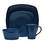 Noritake® Navy on Navy Swirl 4-Piece Square Place Setting