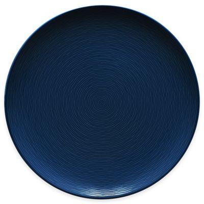 Noritake® Navy on Navy Swirl Round Dinner Plate  sc 1 st  Bed Bath \u0026 Beyond & Buy Navy Blue Dinner Plate from Bed Bath \u0026 Beyond