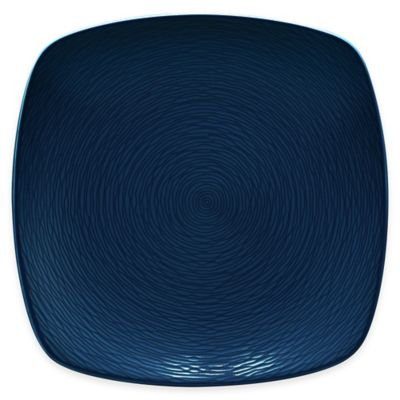 Noritake® Navy on Navy Swirl Square Dinner Plate  sc 1 st  Bed Bath u0026 Beyond & Buy Navy Blue Dinner Plate from Bed Bath u0026 Beyond