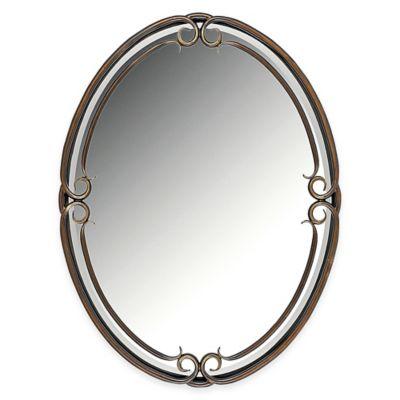 quoizel small duchess mirror - Small Decorative Mirrors