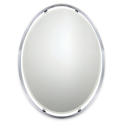 Buy Beveled Oval Mirror From Bed Bath Beyond