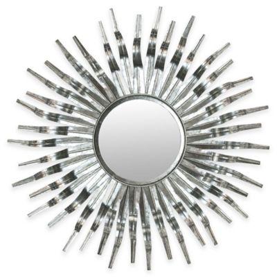 safavieh 37inch sun mirror in silvertone