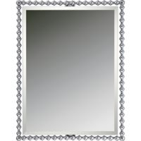 Quoizel Shelburne 25.5-Inch x 33-Inch Rectangular Mirror in Silver