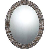 Quoizel Naturals 24-Inch x 30-Inch Oval Mirror