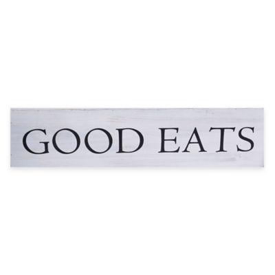 Enchante Accessories Good Eats Plaque