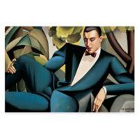 Tamara de Lempicka Marquis d'Afflito Canvas Wall Art