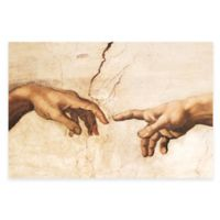 Michelangelo Creation of Adam Detail Wall Art
