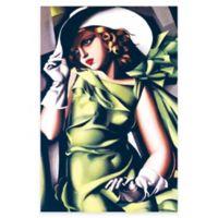 Tamara de Lempicka Young Girl Canvas Wall Art