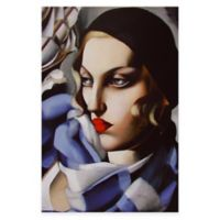 Tamara de Lempicka Echarpe Bleue Canvas Wall Art