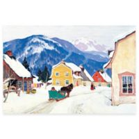 Clarence Gagnon Laurentian Village Canvas Wall Art